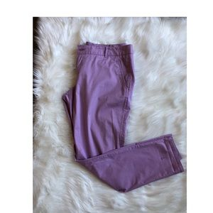 Lilac Chino pants from The Limited